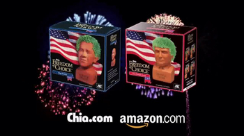 Chia Pet Freedom of Choice TV Spot, 'Obama and Trump' - Thumbnail 7