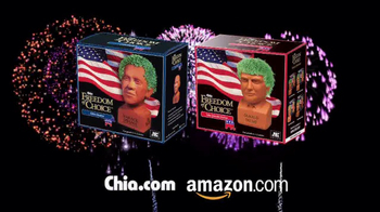 Chia Pet Freedom of Choice TV Spot, 'Obama and Trump' - Thumbnail 8