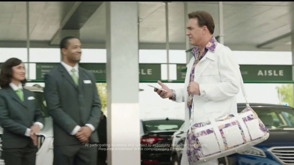 Actor In National Car Rental Commercial