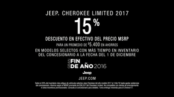 Jeep Gran Fin de Año TV Spot, '2017 Cherokee Limited' [Spanish] - Thumbnail 8