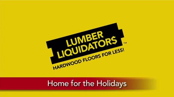 Lumber Liquidators Home for the Holidays TV Spot, 'Buy More, Save More' - Thumbnail 1