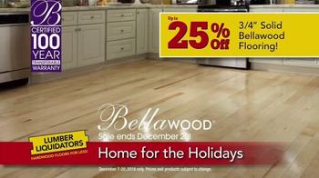 Lumber Liquidators Home for the Holidays TV Spot, 'Buy More, Save More' - Thumbnail 4