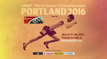 IAAF TV Spot, 'World Indoor Championships: Portland 2016' Ft. Allyson Felix - Thumbnail 9