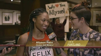 IAAF TV Spot, 'World Indoor Championships: Portland 2016' Ft. Allyson Felix - 4 commercial airings