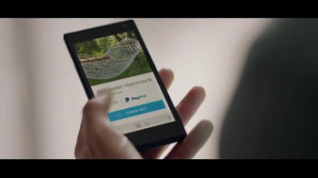 PayPal One Touch TV Spot, 'Hammock' Song by Sepalot - Thumbnail 5