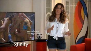 XFINITY TV Spot, 'Free Kick o Tiro Libre' con Maity Interiano [Spanish] - 6 commercial airings
