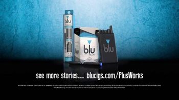 Blu Cigs Plus TV Spot, 'Works For Me' - Thumbnail 7