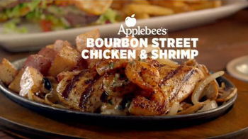Applebee's Bourbon Street Chicken & Shrimp TV Spot, 'Sentir así' [Spanish] - Thumbnail 2