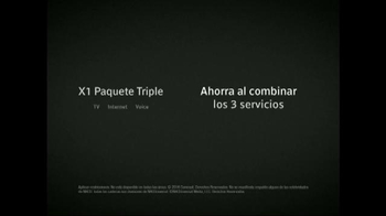 XFINITY X1 Triple Play TV Spot, 'Velocidad' [Spanish] - Thumbnail 9