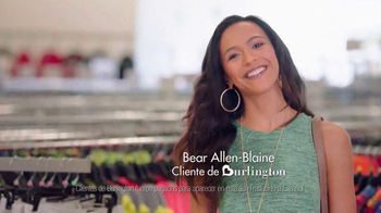 Burlington Coat Factory TV Spot, 'Bear Allen-Blaine' [Spanish]