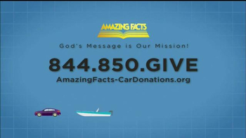 Amazing Facts, Inc. TV Spot, 'Donate Your Car' - Thumbnail 9