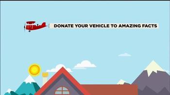 Amazing Facts, Inc. TV Spot, 'Donate Your Car' - Thumbnail 3