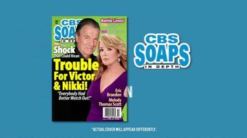 CBS Soaps in Depth TV Spot, 'Trouble for Victor and Nikki' - 2 commercial airings