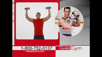 Gwee Gym TV Spot, 'Low Impact, Constant Resistance Exercise Bands' - Thumbnail 3