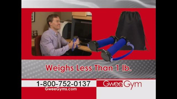 Gwee Gym TV Spot, 'Low Impact, Constant Resistance Exercise Bands' - Thumbnail 6