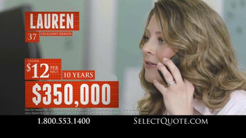 Select Quote TV Spot, 'Do You Have Enough Coverage?' - Thumbnail 7