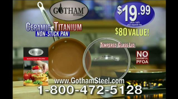 Gotham Steel Pan TV Spot, 'Non-Stick Cookware' Featuring Daniel Green - Thumbnail 9