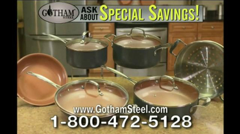 Gotham Steel Pan TV Spot, 'Non-Stick Cookware' Featuring Daniel Green - Thumbnail 8