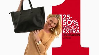 Macy's La Venta de Un Día TV Spot, 'Carteras y bolsas' [Spanish] - Thumbnail 3