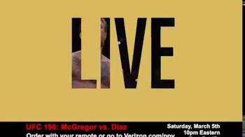 Fios by Verizon Pay-Per-View TV Spot, 'UFC 196: McGregor vs. Diaz' - Thumbnail 1