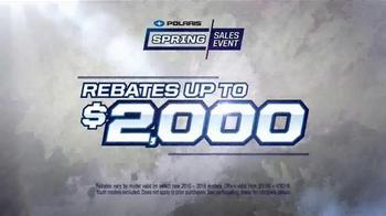 Polaris Spring Sales Event TV Spot, 'Pushing the Limits' - Thumbnail 9