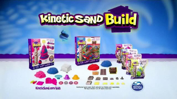 Kinetic Sand Build TV Spot, 'A Whole New Way to Play' - Thumbnail 9