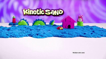 Kinetic Sand Build TV Spot, 'A Whole New Way to Play' - Thumbnail 8