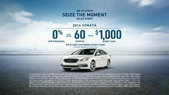 Hyundai Seize the Moment Sales Event TV Spot, 'Your Moment' - Thumbnail 6