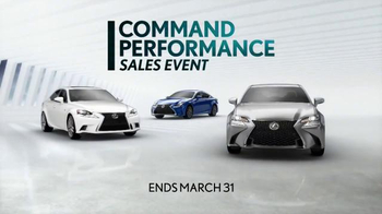 Lexus Command Performance Sales Event TV Spot, 'Cause for Celebration' - Thumbnail 6