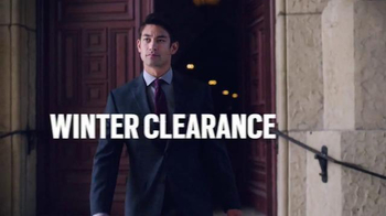 Men's Wearhouse Winter Clearance TV Spot, 'Winter's Over' - Thumbnail 1