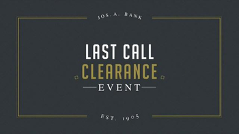JoS. A. Bank Last Call Clearance Event TV Spot, 'Suits, Sweaters and More' - Thumbnail 2