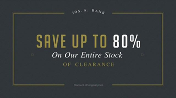 JoS. A. Bank Last Call Clearance Event TV Spot, 'Suits, Sweaters and More' - Thumbnail 3