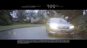 2016 Honda Accord TV Spot, 'Keep a Good Thing Going' - Thumbnail 9