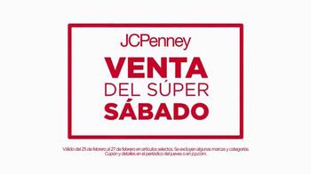 JCPenney Venta del Súper Sábado TV Spot, 'Toallas de baño' [Spanish] - Thumbnail 2