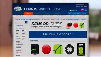 Tennis Warehouse TV Spot, 'Gear Up: Sensors' - Thumbnail 9
