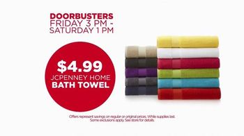 JCPenney Super Saturday Sale TV Spot, 'Towels and Sheets' - Thumbnail 4