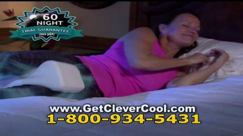 Clever Cool Knee Pillow TV Spot, 'Better Sleep' - Thumbnail 5