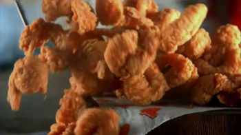 Popeyes Butterfly Shrimp Tackle Box TV Spot, 'Squished Fish Patty on a Bun' - Thumbnail 7