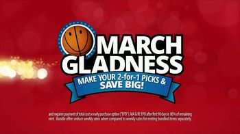 Rent-A-Center March Gladness TV Spot, 'Make Your Picks' - 1226 commercial airings
