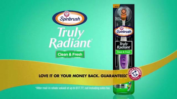 Arm and Hammer Spinbrush Truly Radiant TV Spot, 'Fresh' Ft. Alison Sweeney - Thumbnail 9
