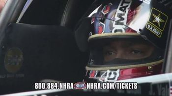 NHRA TV Spot, 'Too Fast to Turn Left'