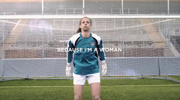 Always Infinity TV Spot, 'Because I'm a Woman' Featuring Stephanie Labbe - Thumbnail 2