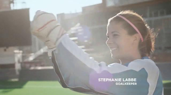 Always Infinity TV Spot, 'Because I'm a Woman' Featuring Stephanie Labbe - Thumbnail 4