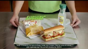 Subway Sándwich de Pollo Estilo Rostizado TV Spot, 'Fresco' [Spanish] - Thumbnail 10
