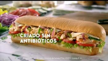 Subway Sándwich de Pollo Estilo Rostizado TV Spot, 'Fresco' [Spanish] - Thumbnail 3