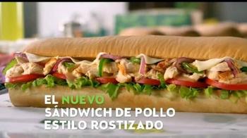 Subway Sándwich de Pollo Estilo Rostizado TV Spot, 'Fresco' [Spanish] - Thumbnail 9