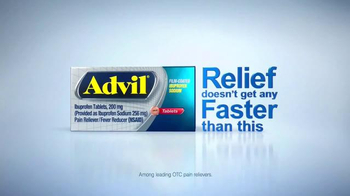 Advil Film-Coated TV Spot, 'Fact: Fast Relief' - Thumbnail 8