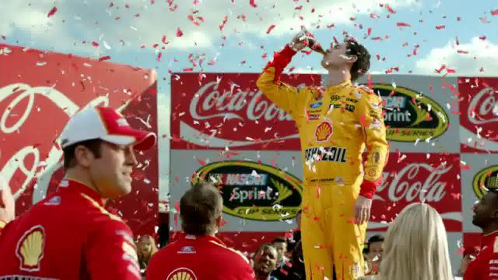 Coca-Cola TV Commercial, 'Winner's Circle' Featuring Joey Logano
