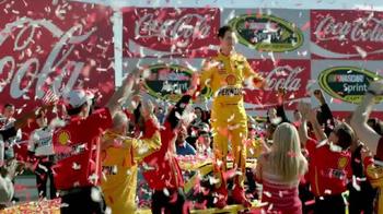 Coca-Cola TV Spot, 'Winner's Circle' Featuring Joey Logano - Thumbnail 1