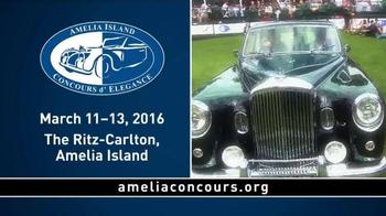 Amelia Island TV Spot, '21st Annual Concours d' Elegance' - Thumbnail 6